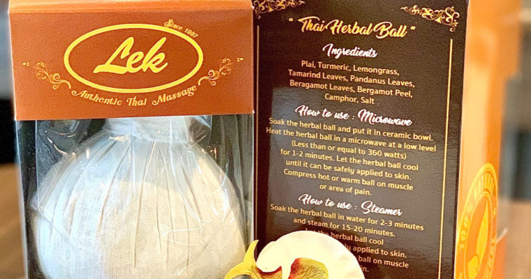 Lek Herbal Massage Ball