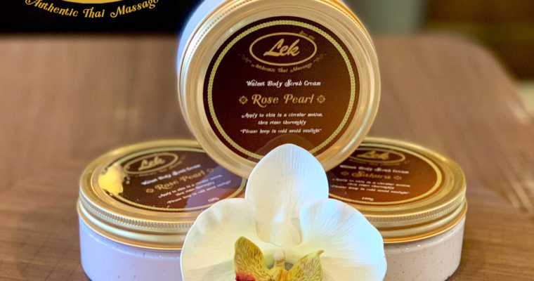 Lek's Body Cream Scrub