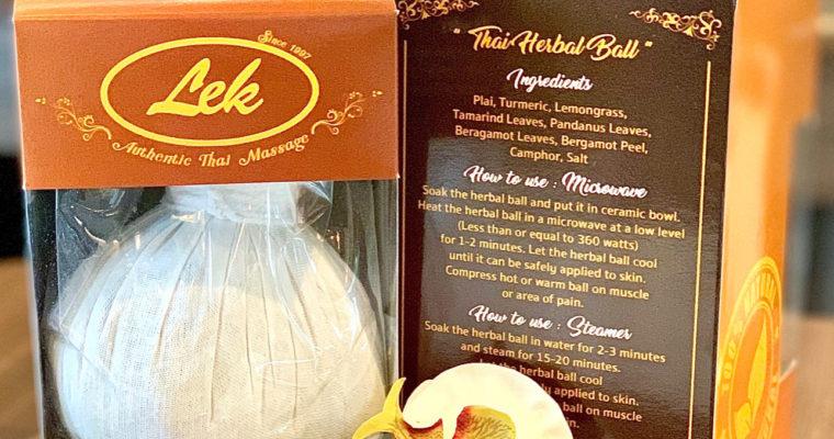 Lek Herbal Massage Ball