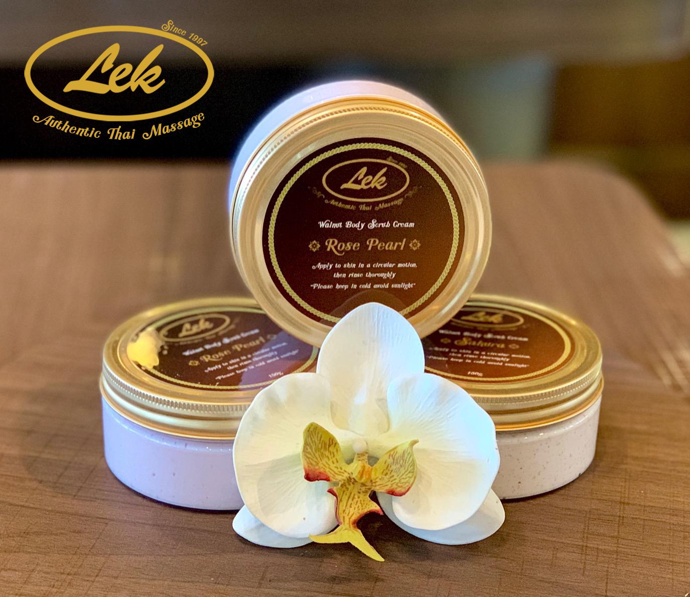Lek's Body Cream Scrub